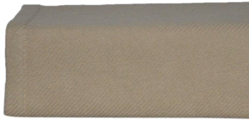 Nautica Cotton Twill Blanket, Twin, Khaki front-993161