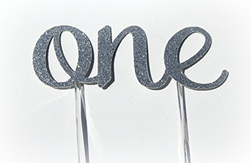 handmade-1st-first-birthday-cake-topper-decoration-one-made-in-usa-with-double-sided-silver-glitter-
