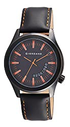 Giordano Analog Black Dial Mens Watch - 1671-03