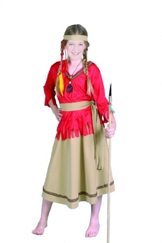 Children's Indian Girl Costume (Size:Large 12-14)