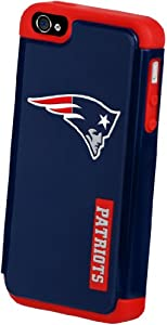 Forever Collectibles New England Patriots Rugged Dual Hybrid Apple iPhone 4 & 4S... by Forever Collectibles
