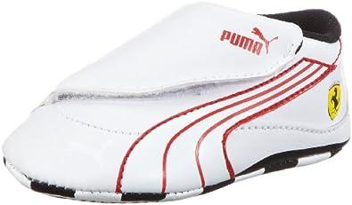Puma Drift Cat 4 L SF Crib 303976, Unisex-Baby Lauflernschuhe, Weiß (white-white-rosso corsa 08), EU 18 (UK 2) (US 3)