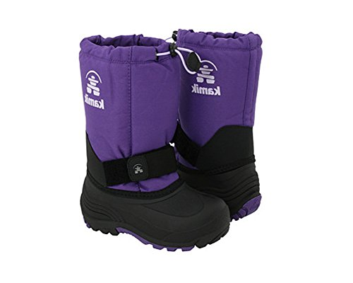 Kamik Rocket Cold Weather Boot (Toddler/Little Kid/Big Kid),Deep Purple,9 M US Toddler