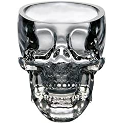 Exciting Lives Crystal Head Shot Glass