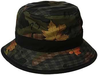 Amazon.com: LRG Men's L47 Camo Reversible Bucket Hat ...