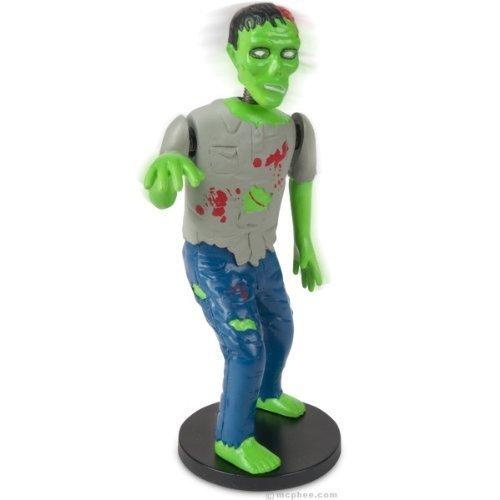 Dashboard Zombie Bobblehead Walking Dead Goth Horror Brain Eating Novelty Gift - 1