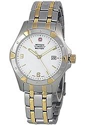 Wenger 79237 Swiss Made Men's Analog Round Watch Steel Bracelet
