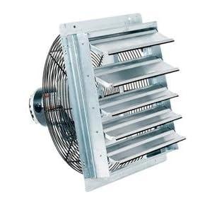 Fantech 2she1221 2she Series 12 Quot Shutter Mount Exhaust Fan