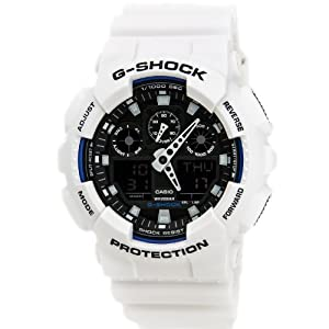 G-Shock GA-100B LTD Edition White GA-100B-7 Watch