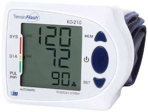 Visiomed Tensioflash KD210 Handgelenk-Blutdruckmessgerät,