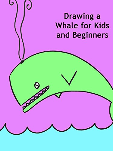 Drawing a Whale for Kids and Beginners
