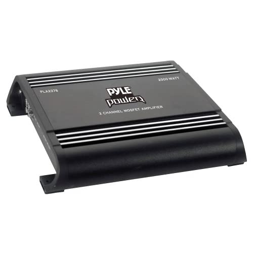 Pyle Pla2378 2 Channel Bridgeable Amplifier
