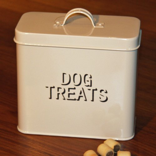 Artikelbild: Metall, Creme Dry Dog Treats, in Dose