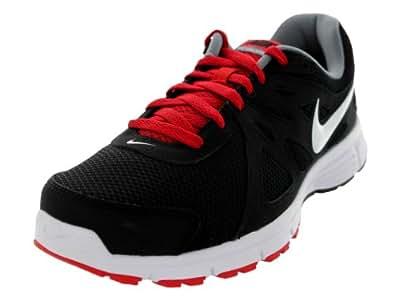 Nike Men's Revolution 2 Running Shoe (6, BLACK/WHITE/VARSITY RED/CL GRY)