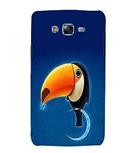 printtech Parrot Bird Sky Back Case Cover for Samsung Galaxy E7 / Samsung Galaxy E7 E700F
