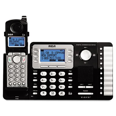 ViSYS-Cordless-Expandable-PhoneAns-System-2-Lines-1-Handset