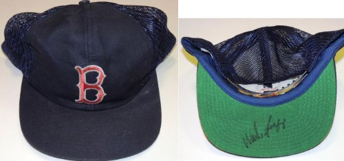 Wade Boggs Autographed Boston Red Sox Hat - Autographed MLB Helmets and Hats