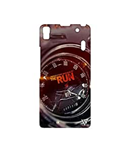 Vogueshell NFS Speedometer Printed Symmetry PRO Series Hard Back Case for Lenovo A7000