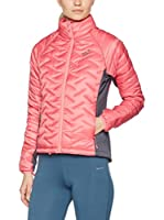 Jack Wolfskin Chaqueta Guateada Icy Water (Rosa / Gris)