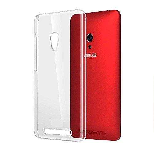 ASUS ZenFone 5 Crystal Air Case 0.3mm 極薄 スリムエアーケース [ A500KL 16GB 32GB SIMフリー LTE / 楽天モバイル版 対応 ] ソフトTPU材質 11g 軽量モデルUltra Slim Clear (スリムクリア)