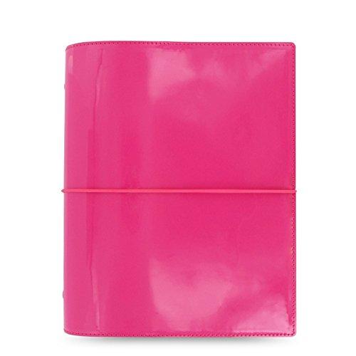 Filofax - Domino Agenda organiser compatta, formato A5, colore: rosa