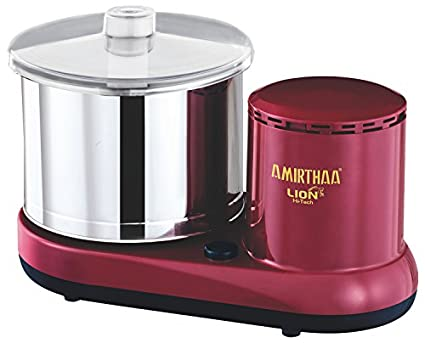 Amirthaa LION 2 Litres Table Top Wet Grinder