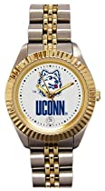 Connecticut Huskies- (University of) Ladies Executive Stainless Steel Sports Watch #1