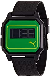 Puma Flat Screen Digital Unisex Watch PU910951009