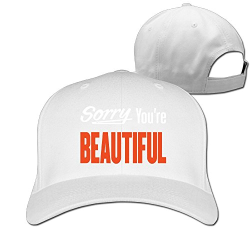 MaNeg Sorry You're Beautiful Adjustable Hunting Peak Hat & Cap (Costume Stores Cleveland)