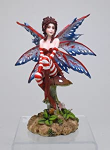 """Amy Brown Collection Brat Fairy Statue 6.25""""Tall"""