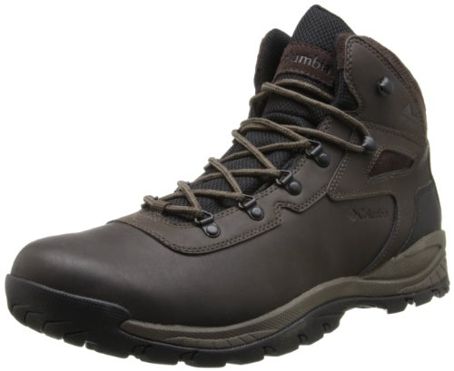 Columbia Men's Newton Ridge Plus Hiking Boot,Cordovan/Treasure,8