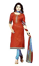 Sagi Women's Cotton Silk Unstitched Dress Material (SDDM-10_Multi_Free Size)