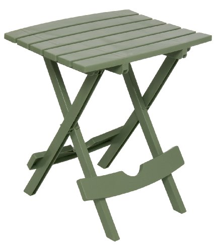 Adams Manufacturing 8500 01 3700 Quick Fold Side Table Sage