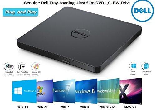 f2e8a11667af6e Dell DVD Drive External USB Ultra Slim + -RW Plug   Play DVD CD RW Rom ...