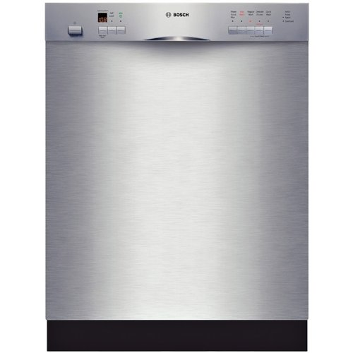 Bosch : SHE55M15UC 24 Evolution 500 Series Full Console Dishwasher - Stainless Steel