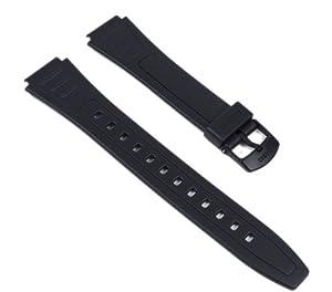 Casio 10268612 - Correa para reloj, resina, color negro de Casio Ersatzband