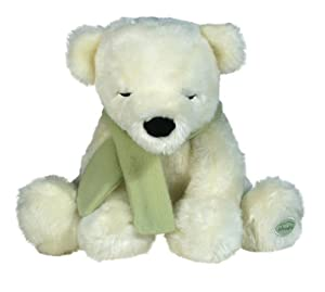 Cloud b Polar Cuddle Bear Sleep Aid - Gently Shivers For Comforting Touch