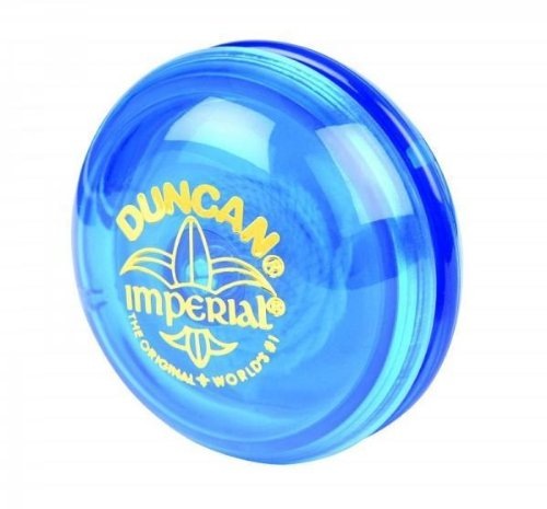 Genuine Duncan Imperial Yo-Yo Classic Toy - Blue - 1