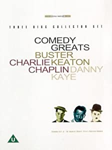 Comedy Greats: Buster Keaton/Charlie Chaplin/Danny Kaye (Box Set) [DVD]