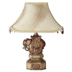 John Lewis Elephant Table Lamp And Shade Amazon