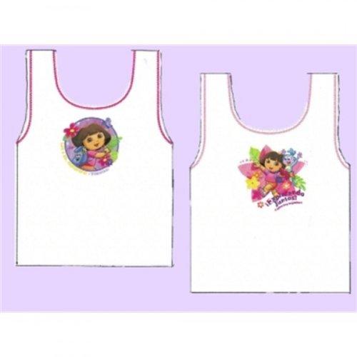 Girls Dora The Explorer Vests Underwear 4 Pack