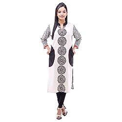 Kyaara Women's Casual Wear Attraction Cotton Kurta