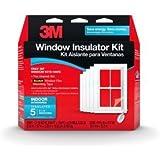 3M Window Insulator Kit: Indoor Insulates 5 3x5 Windows