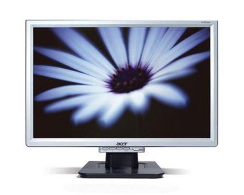 """Acer Al2016W 20"""" Widescreen Lcd Monitor-Silver"""