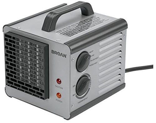 Heating, Cooling & Air 6201 Broan Big Heat Cube Portable Electric Space Heater 120V 1500 Watt (Garage Ac Heat compare prices)