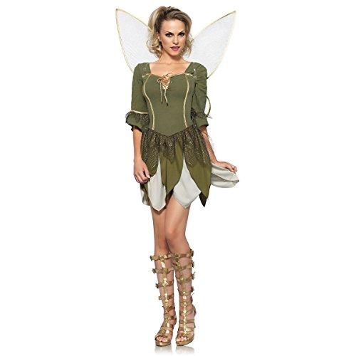 GSG Woodland Fairy Costume Adult Halloween Fancy Dress (Woodland Fairy Costumes For Adults)