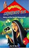 Babysitters Mystery 22; Stacey and the Haunted Masquerade (0590137964) by Martin, Ann M.