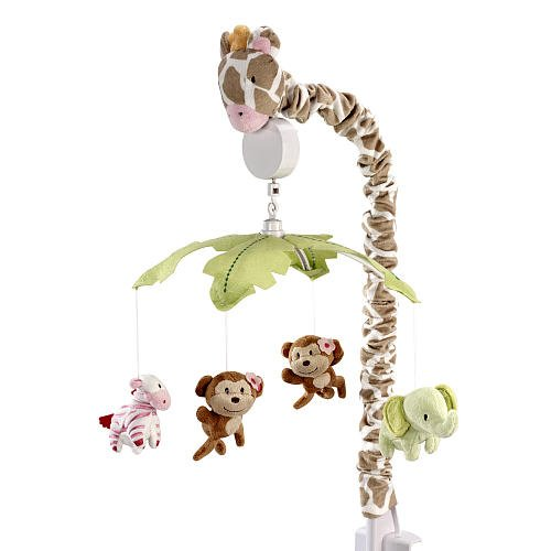 Carters Jungle Collection Musical Mobile front-1076350