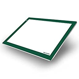 Huion A4 Touch ADJUSTABLE Illumination LED Light Pad - Green Frame