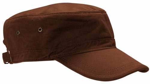 Econscious 100% Organic Cotton Twill Corps Hat (Earth) front-424045